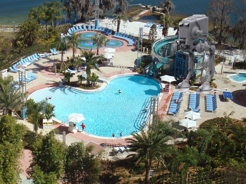 Disney Star Wars Resort Pool